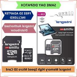 128GB Scheda Di Memoria Micro SD Classe 10 U3 per Huawei Cel
