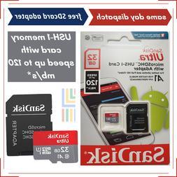 SanDisk 32GB Micro Carte SD / Pour Canon EOS 4000D,EOS 600D