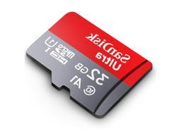 SanDisk 32GB MicroSD SDHC Card Ultra 98MB/s Classe 10 Micro