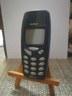 NOKIA 3310 BLUE telefonino vintage funzionante gsm apertura
