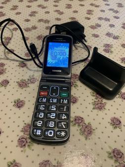Brondi Amico Flip+ Telefono Cellulare - Nero