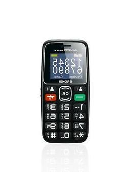 Brondi Amico Unico Nero Telefono cellulare GSM per anziani t