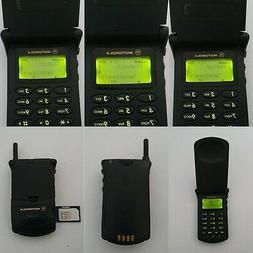 CELLULARE MOTOROLA STARTAC 130 USIM PICCOLA GSM UNLOCKED SIM