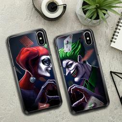 Cover joker & Harley, custodie per cellulare di coppia, lui