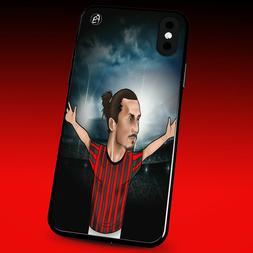Cover per cellulare calciatori cartoon Serie A Milan Ibra