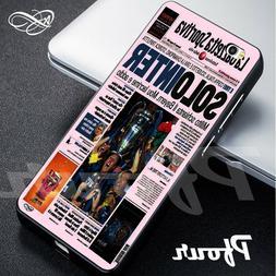 Cover per cellulare tifosi nerazzurri Inter prima pagina Gaz