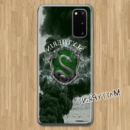 Cover personalizzata Harry Potter Serpeverde fumo custodia S