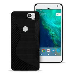 Custodia Cellulare In per Google Pixel 2 Colori Semplici Sil