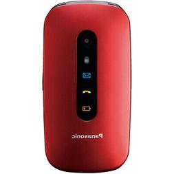 Panasonic KX-TU456 6,1 cm  110 g Rosso Telefono cellulare ba