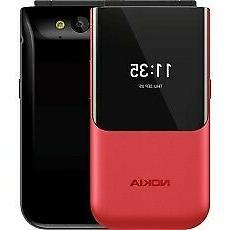Nokia 2720 Flip 7,11 cm  118 g Rosso Telefono cellulare basi