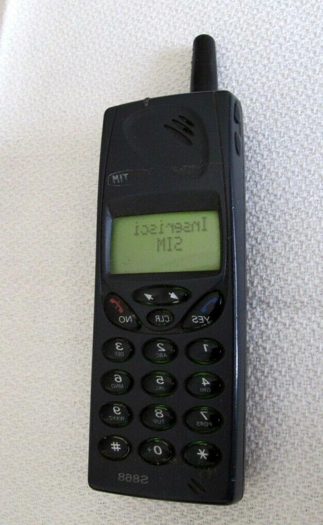 cellulare vintage s868 con batteria e caricatore