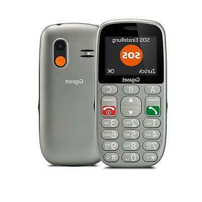 gigaset gl 390 telefono cellulare senior tastiera