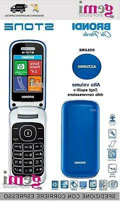 Telefono Cellulare per Anziani a Conchiglia Dual Sim Display