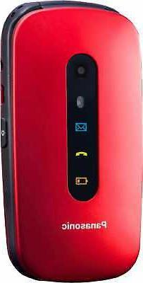 Panasonic Telefono Cellulare per Anziani Clamshell Bluetooth
