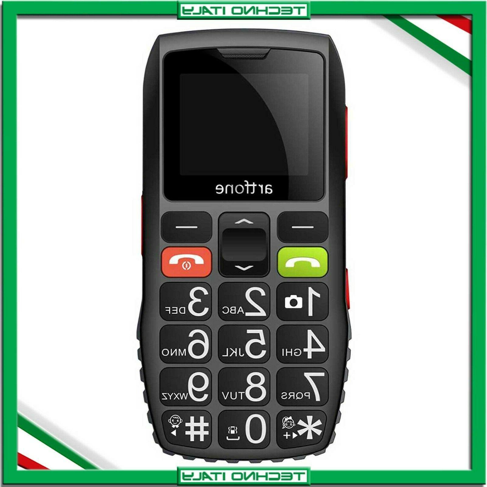 telefono cellulare per anziani nonni artfone c1