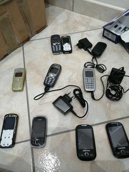 Lotto 10 Telefoni cellulari Vintage e non funzionanti Nokia,