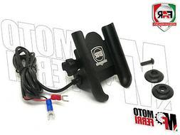 MF1965 - SUPPORTO PORTA SMARTPHONE UNIVERSALE CON USB FAR TM