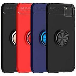 Per Huawei Y5P Y6P P40 Pro Lite E 5G Caso Magnetico Anello U
