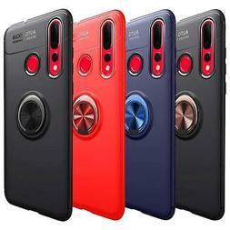 Per Huawei Y6p Y5p P40 Pro Lite E 5G Caso Magnetico Anello U