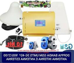 RIPETITORE AMPLIFICATORE CELLULARE BANDE 8/1 GSM 3G 4G* WIND