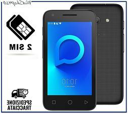 Smartphone ANDROID Nuovo Economico Dual SIM nero Quad Core C