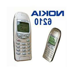 TELEFONO CELLULARE NOKIA 6210 GOLD ORO GSM CANDY BAR USATO-