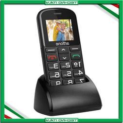 ✅ TELEFONO CELLULARE ANZIANI NONNI ARTFONE CS182 TASTI GRA