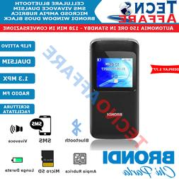 Telefono Cellulare per Anziani Dual Sim Flip Attivo Vivavoce