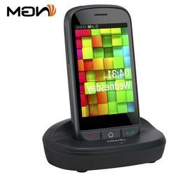 Telefono Cellulare per anziani NGM PICO Nero touchscreen 3.5