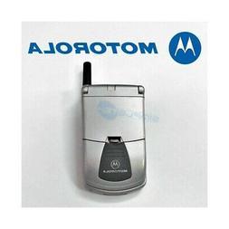 TELEFONO CELLULARE MOTOROLA STARTAC 130 GRIGIO SILVER GSM 19