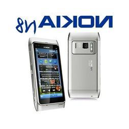 TELEFONO CELLULARE TOUCHSCREEN NOKIA N8 SILVER 3,5? 3G WIFI