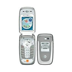 TELEFONO CELLULARE MOTOROLA V360 GSM GRIGIO SILVER FOTOCAMER